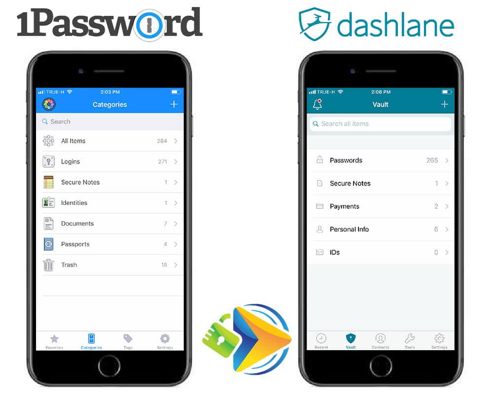 How do password managers work with mobile devices