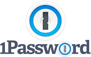 1Password logo, my recommended password manager app