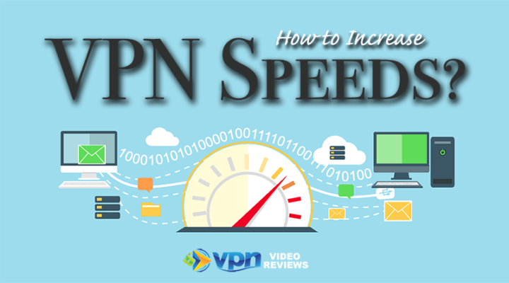 How to Increase Internet speeds when using a VPN
