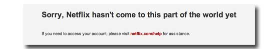 Netflix georestriction of content for places like China and Saudi Arabia