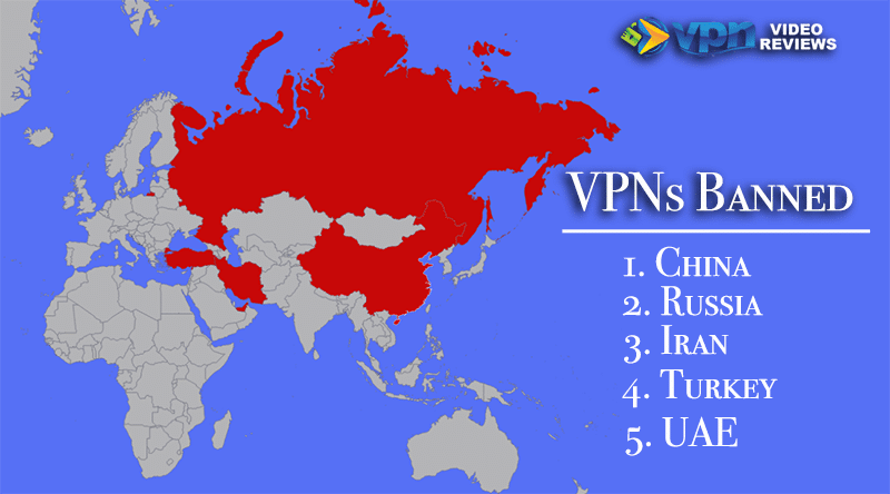 Is a VPN illegal? These countries have banned VPN usage.