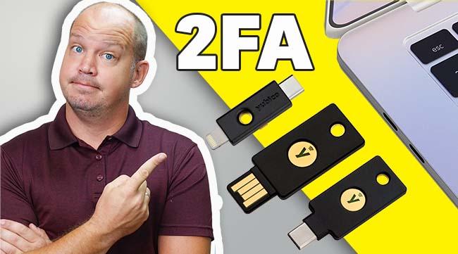 2FA Security Key tutorial
