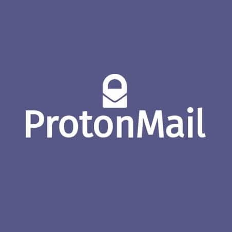 Protonmail, the recommended secure email provider