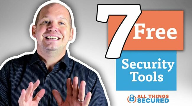 7 Free online security tools for security and privacy