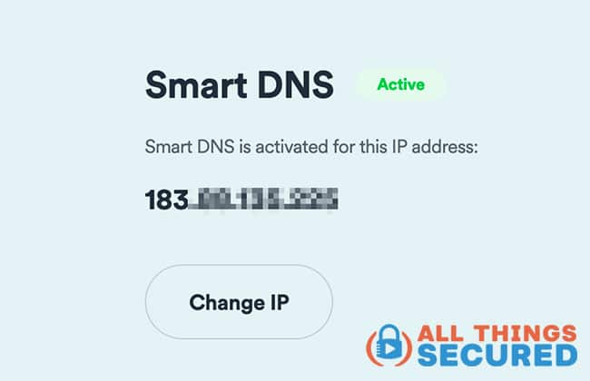 Activate SmartDNS with your provider