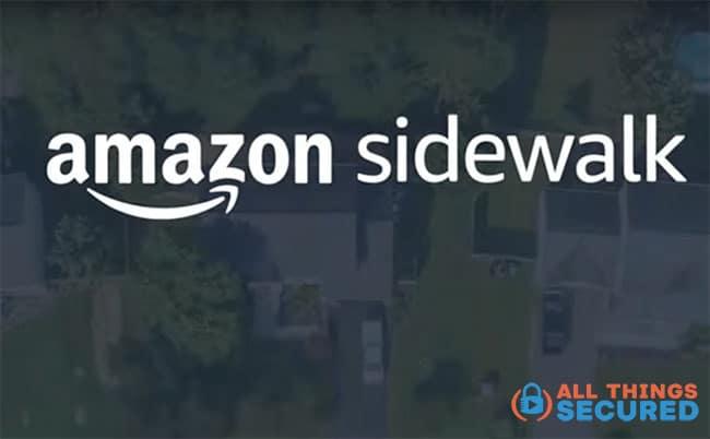 Amazon Sidewalk settings
