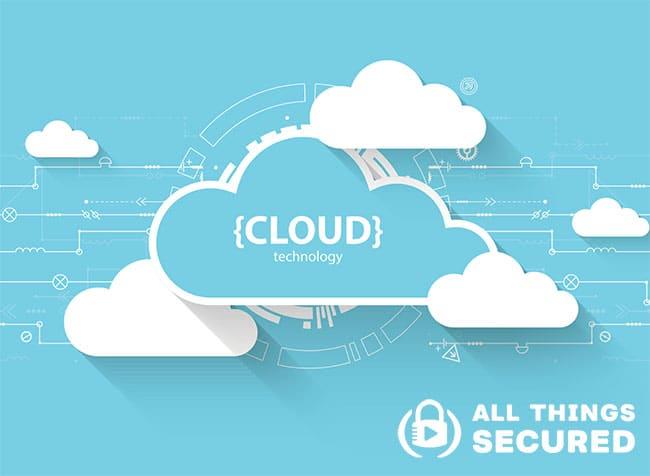 Cloud storage graphic