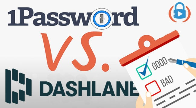Dashlane vs 1Password compared pros and cons in 2021