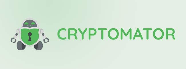 Cryptomator Logo with green background