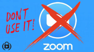 Don't use Zoom Meetings anymore