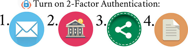 The critical places you should turn on 2-factor authentication today.