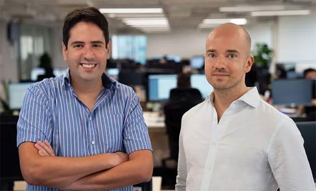 ExpressVPN founders Dan Pomerantz and Peter Burchhardt