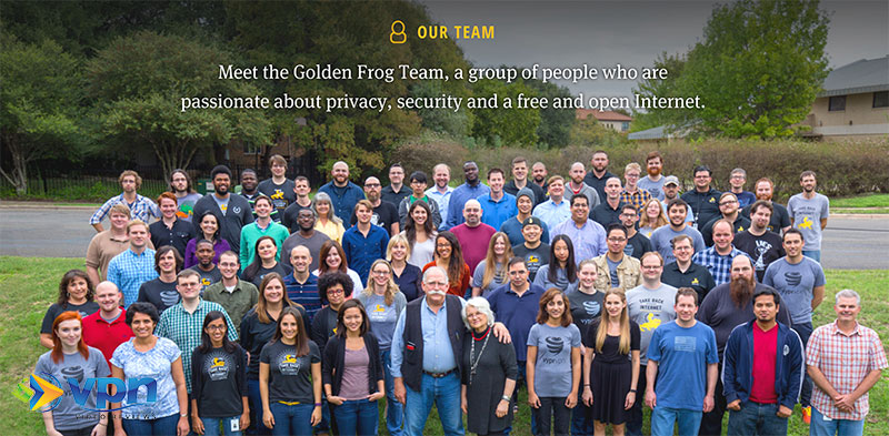 The Golden Frog Team, makers of VyprVPN