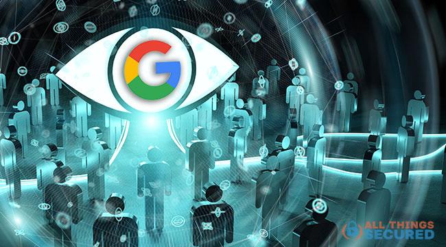 Google's Big Brother eye