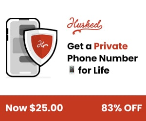 Increase your privacy with a second phone number!