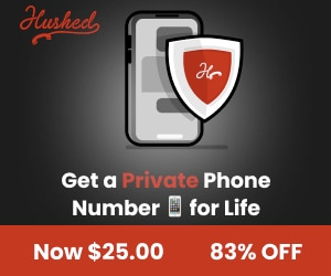 Get a Private Phone number for life with Hushed!