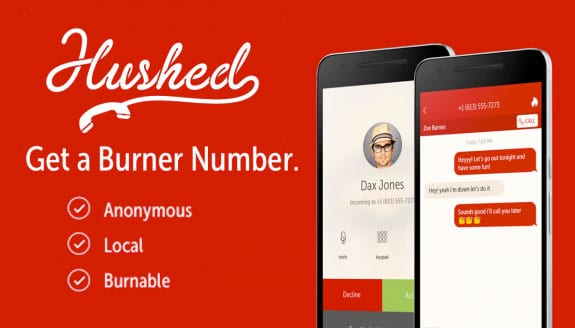 Get a private burner number with Hushed