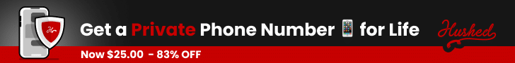 Get a private phone number with Hushed