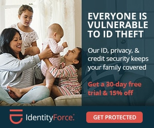 IdentityForce identity monitoring black friday and cyber money deal