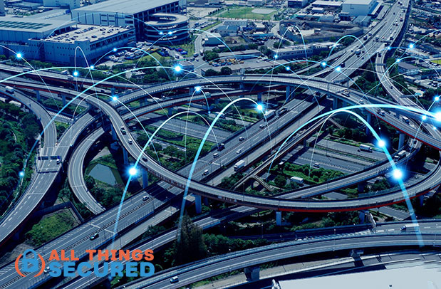 The internet is like a highway system connecting different cities.