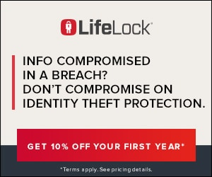 Monitor your identity with LifeLock