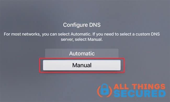 Manually configure the SmartDNS