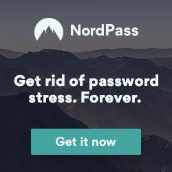 NordPass password manager app