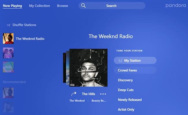 Pandora unblocked for streaming music