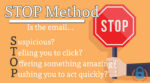 Phishing email STOP Method