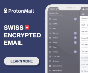 Try ProtonMail for encrypted email