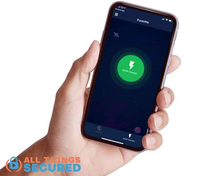 Mobile app homescreen