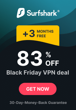 Surfshark VPN Black Friday sale