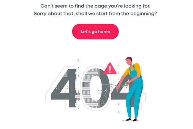 No about page, just a 404