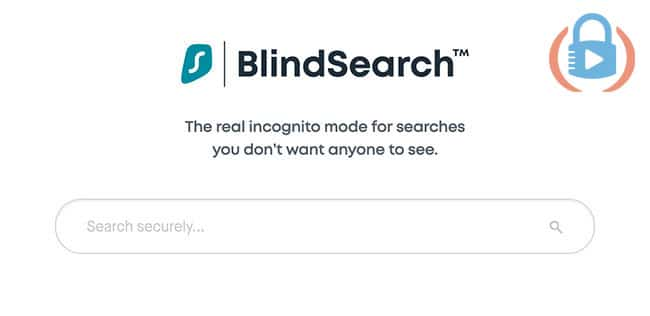 BlindSearch mode for search