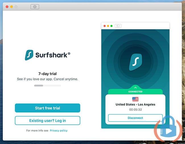 Surfshark desktop sign in