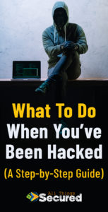 Save this article about what to do after you've been hacked